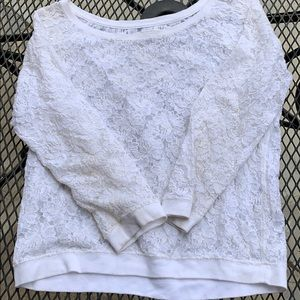 Tops - Lace Abercrombie and Fitch top